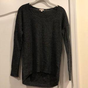 Gap Women's Sweater Dark Gray W/ Sparkle Size XS